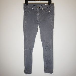 Rag & Bone Lita Gray Skinny Pants